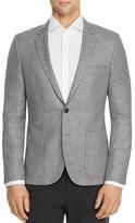 HUGO Donegal Tweed Slim Fit Sport Coat