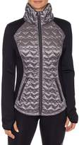 Betsey Johnson Women's Quilted Long-Sleeve Jacket