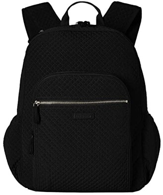 Vera Bradley Iconic Campus Backpack (Classic Black) Backpack Bags