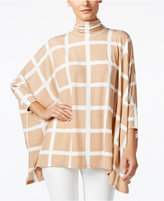 Alfani Turtleneck Poncho Top, Only at Macy's