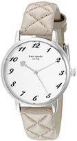 Kate Spade Women's 1YRU0784 Metro Stainless Steel Watch