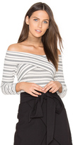 Greylin Drew Knit Off Shoulder Top