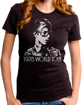 Goodie Two Sleeves Black Bowie Tour Tee - Women