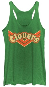 Fifth Sun Bring It on Team Clovers Logo Tri-Blend Racer Back Tank
