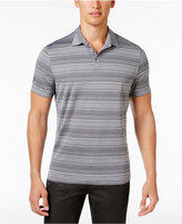 Alfani Men's Tech Striped Polo, Only at Macy's