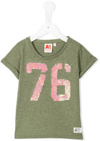 American Outfitters Kids - sequin 76 T-shirt - kids - Cotton - 4 yrs
