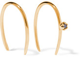 Sarah & Sebastian - Stone Aura 14-karat Gold Diamond Earrings - One size
