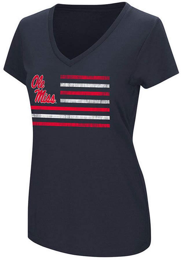 Colosseum Women Ole Miss Rebels PowerPlay T-Shirt