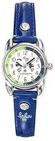 Lulu Castagnette Girl's Watch – Analogue Quartz – Silver Dial – 38770 Purple Leather Bracelet