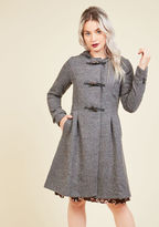 ModCloth Set for the Solstice Coat in Pepper in 3X