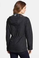 Vince Camuto Ripstop Front Zip Hooded Jacket (Regular & Petite)