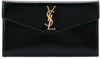 Saint Laurent Envelope Clutch Bag