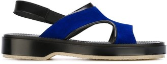 Adieu Paris Cut-Out Sandals