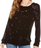 Chaser Women's Spaced Out Long Sleeve - Black