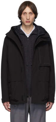 Ermenegildo Zegna Black Magnetic Pocket Jacket