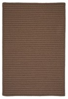 Colonial Mills Simply Home Hand-Braided Cashew Indoor/Outdoor Area Rug Rug Size: Runner 2' x 5'
