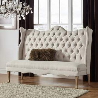 Birch Lane Birch LaneTM Heritage Janell Tufted Upholstered Bedroom Bench Heritage Upholstery: Beige
