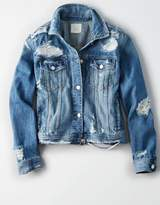 American Eagle Outfitters AE Mended Classic Denim Jacket