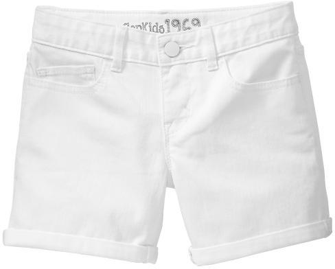 Gap Denim midi shorts