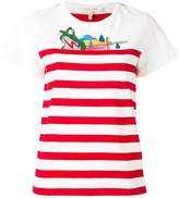 Marc Jacobs Julie Verhoeven striped T-shirt