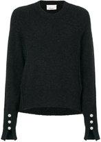 3.1 Phillip Lim faux-pearl embellished sweater - women - Polyamide/Spandex/Elastane/Wool/Yak - XS