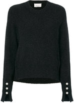 3.1 Phillip Lim faux-pearl embellished sweater