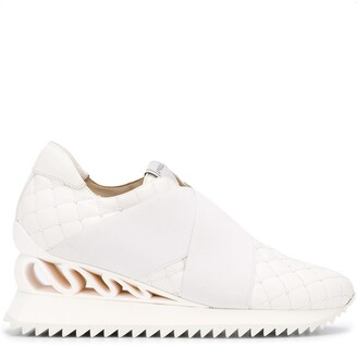 Le Silla Quilted Slip-On Trainers
