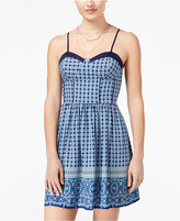 American Rag Sleeveless Printed A-Line Dress, Only at Macy's