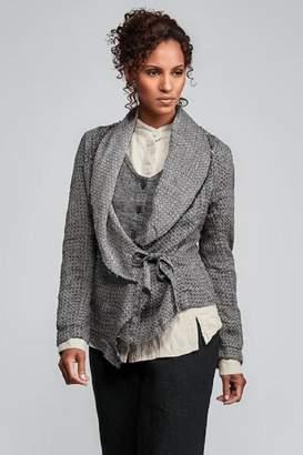 Flax Linen Drape Jacket