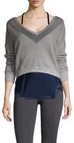 Splits59 Deep V-Neck Sweatshirt
