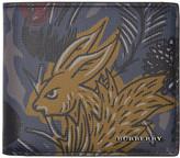 Burberry Navy & Grey 'Burberry Beasts' Wallet