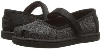 TOMS Kids Mary Jane (Infant/Toddler/Little Kid) (Rose Gold Crackle Foil) Girls Shoes