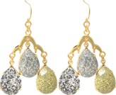 Aris Geldis Terrano tricolore earrings