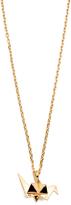 Aurelie Bidermann Fine Jewelry Origami Charm with Chain Necklace