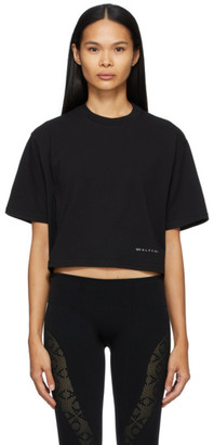 Alyx Black Cropped Logo T-Shirt
