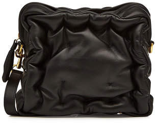 Anya Hindmarch Chubby Cube Crossbody Leather Bag