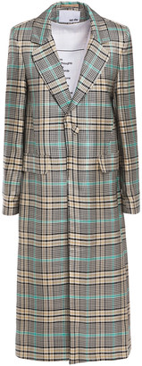 Each X Other Checked Jacquard Coat