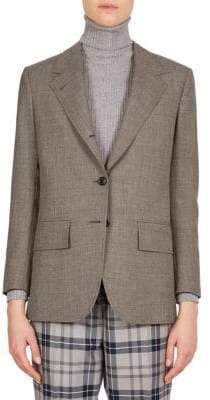Thom Browne Wide Lapel Blazer