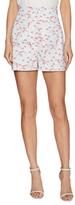 Carolina Herrera Cotton Mushroom Print Shorts