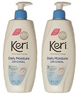 Keri Original Daily Dry Skin Therapy Lotion, 15 oz (Pack of 2)