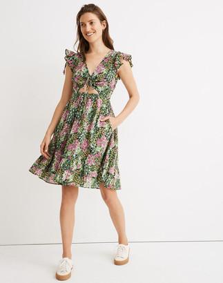 Madewell Banjanan Betty Cutout Mini Dress