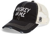 Original Retro Brand Men's Whiskey & Me Trucker Hat - Black