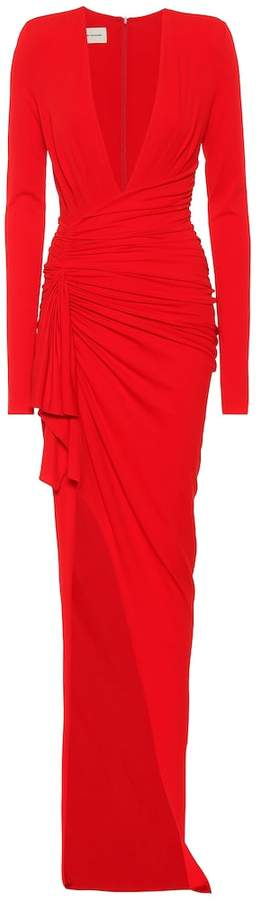 Alexandre Vauthier Long-sleeved gown