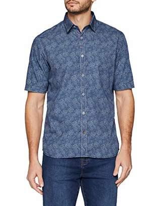 Signum Men's 191510279-686 Casual Shirt, (Dark Blue 686), (Size: XXL)