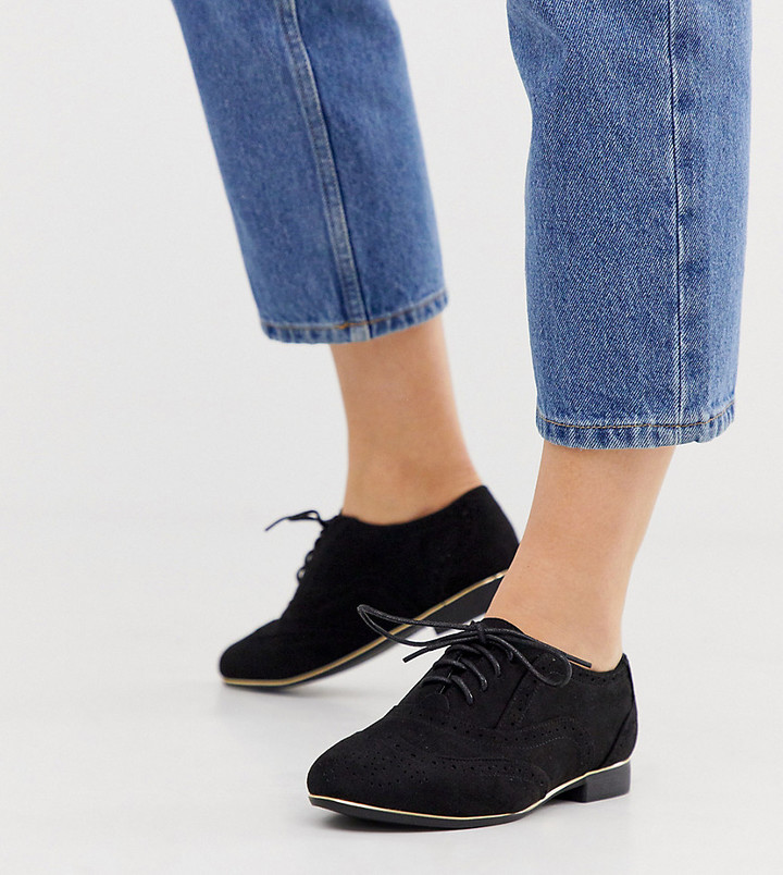 Wide Fit Womens Brogues | Shop the