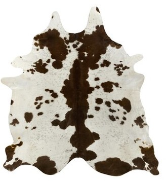 """Saddlemans Special Animal Print Handmade Cowhide Brown/White Area Rug Rug Size: Novelty 6' x 7'6"""""""