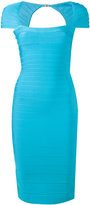 Herve Leger bandage dress - women - Nylon/Spandex/Elastane/Rayon - S