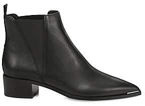Acne Studios Women's Jensen Point Toe Grain Leather Chelsea Boots