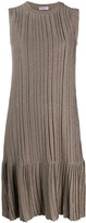 Brunello Cucinelli knitted midi dress