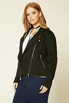 Forever 21 FOREVER 21+ Plus Size Moto Jacket
